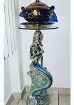 Mermaid Design Stand for Yemaya/Mesita Sirena - Glass Top 30