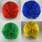 Color Turbans for Head Covering/Turbantes de Color
