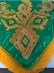 Orunmila Decorated shawl/Pañuelo para Orula
