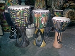 Tambores/African Yoruba Drums (various sizes)