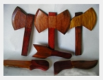 Wood Tools set for Shango/Herramientas de Madera Chango