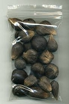 5 Eyed African Palm Nuts- 1 Hand/Mano de Ikines 5 Ojos (21 ct)