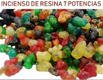 Incienso Resina de 7 Potencias Africanas/7 African Powers Resin Incense 1 lb Bag