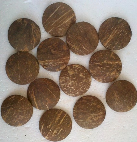 Chamalongos Set of (4) Coco Chips for Divination